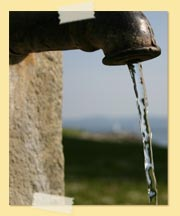 Image of water faucet