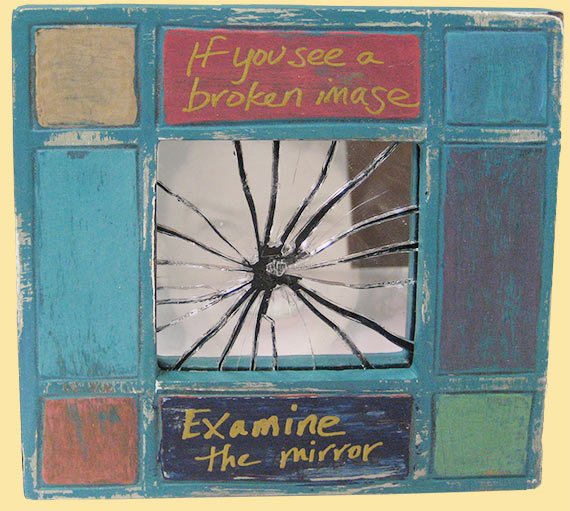 "Art by Christine Bakke - ""Broken Image"""
