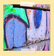 Image of colorful graffiti