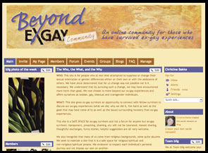 Screen Capture of BXG Community Home Page