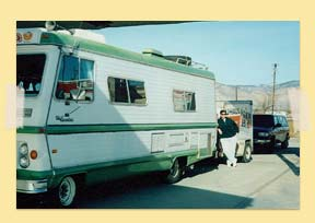 Image of Christine moving to CO in 1998