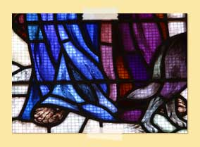Photo of Stained glass - feet