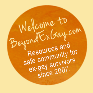 Welcome to BeyondExGay.com